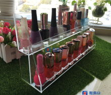 Wholesale Custom Black Acrylic Nailpolish Organizer with Logo pictures & photos