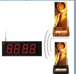 Complete Restaurant Use Wireless Table Calling Bell System