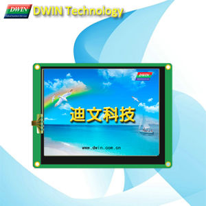 "Industrial 5.6"" Uart TFT LCD Module/HMI, Touch Screen Optional, Dmt64480t056_03W"