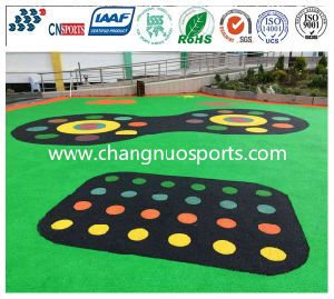 Laminated EPDM Moving Flooring for School Playgound, Park, Track, Path pictures & photos
