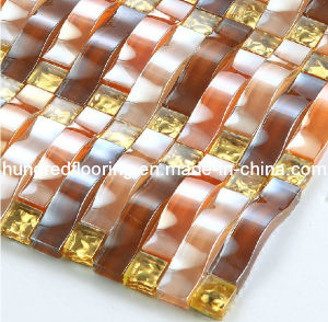Glass Mosaic Wall Tile (HGM259) pictures & photos