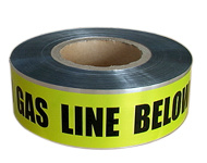 Al Foil Underground Use for Caution Gas Line Detactable Warning Tape pictures & photos