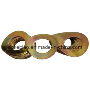 Wave Washer with Yellow Zinc Plating (KB-030)