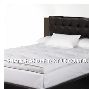 Shanghai DPF Textile Duck Down Mattress Pad pictures & photos