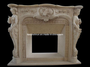 Marble Carving Statuary Fireplace (2232) pictures & photos