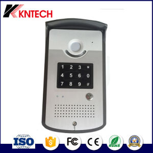 Kntech Wireless GSM Security Access Control Video Door Phone pictures & photos