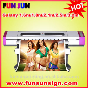 Galaxy Ud-1612LC Outdoor Large Format Vinyl Sticker Printing Machine for Sale (1.6m, 1440dpi, two DX5 head, economic and good quality) pictures & photos