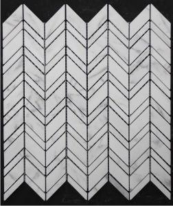 Hexagon/Basketweave/Herringbone/French Pattern Floor/Wall White Marble Mosaics for Bathroom Flooring Tiles pictures & photos