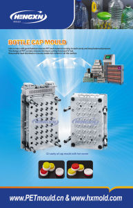 Edible Oil Cap Mould With Hot Runner pictures & photos