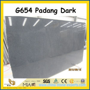 China G654 Padang Dark Polished Granite Slabs for Floor / Wall pictures & photos