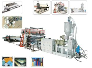 Plastic Machine for Single and Multi-Layer Sheet Extrusion Line pictures & photos