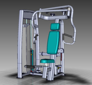 CE Certificated Pin Loaded Fitness Machine, Chest Press (SS01) pictures & photos