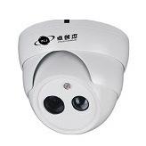 Dome Security Camera with Day Night Vision