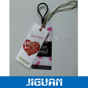 Cardboard Hang Tags Plastic Hang Tag pictures & photos