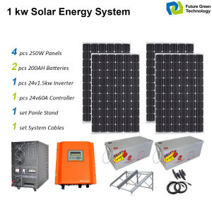 2017 Solar Power System with Solar Panel Solar Charge Controller pictures & photos