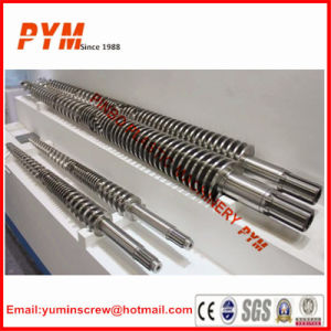 Twin Screw Extruder Screw Barrel for Extrusion Machine pictures & photos