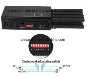 8bands Portable Handheld WiFi GPS Mobile Signal Jammer pictures & photos