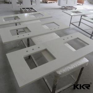 Building Material Scratch Resistance Quartz Stone Kitchen Countertop pictures & photos