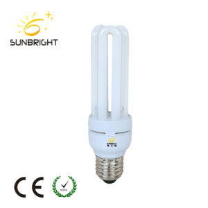 15W Energy Saving Lamp, E27 2u Bulb Lighting with Ce RoHS pictures & photos