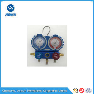 Manifold with All Stainless Steel Pressure Gauge Aw -F136 pictures & photos
