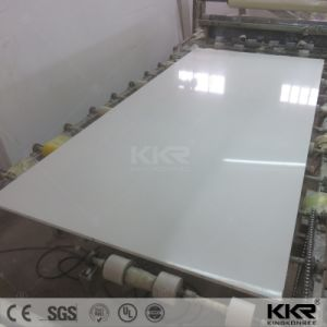 High Density 30mm Pure White Artificial Quartz Stone (Q1708242) pictures & photos