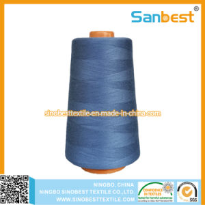 Colorful Spun Polyester Sewing Thread pictures & photos
