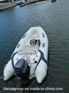 Liya 12.5feet Rigid Inflatable Dinghy Rib Boats Inflatable Fiberglass pictures & photos