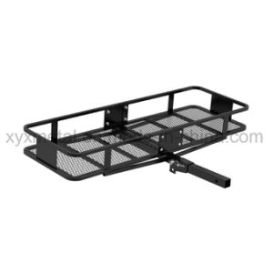 Foldable Hitch Mounted Cargo Carrier Luggage Basket Rack pictures & photos
