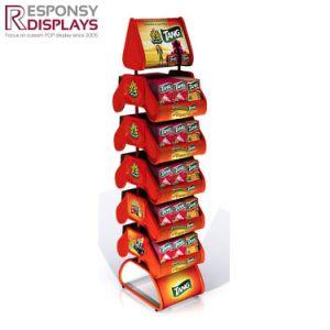 Metal Chocolate Snack Biscuit Display Rack pictures & photos