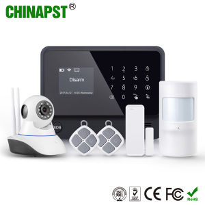 Wireless GSM Security WiFi Burglar Home Alarm with SMS Alarm (PST-G90B Plus) pictures & photos