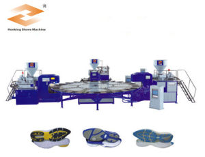 Rotary Sport Shoe Sole Making Machine pictures & photos