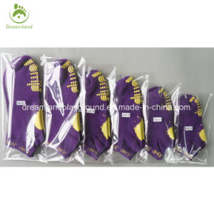 Wholesale High Quality Baby Socks with Rubber Sole for Trampoline pictures & photos