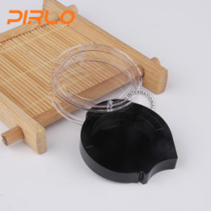 2g Unique Design Plastic Cosmetic Makeup Packing Jar Rotatable Eye Shawdow Jar pictures & photos
