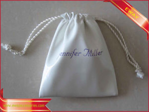 Cotton Bag Promotion Gift Packing Cotton String Bag pictures & photos
