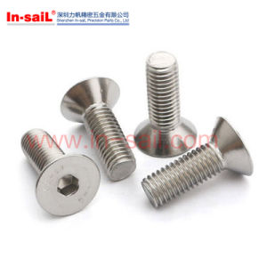 Flat Round Head Countersunk Screw pictures & photos