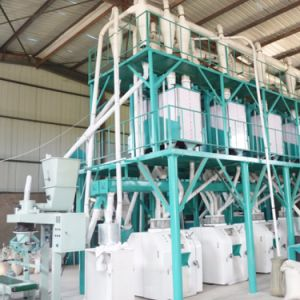 5-500t/24h Fully Automatic Maize Flour Mill Machine pictures & photos