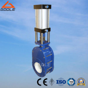 Pneumatic Ceramic Swing Feed Valve (GZD644TC) pictures & photos