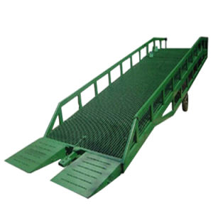 6 Ton China New Condition Durable Mobile Hydraulic Dock Ramp pictures & photos