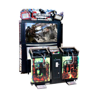 "55"" LCD Razing Storm Video Gun Shooting Arcade Games Machine Shooting Simulator Amusement Park pictures & photos"