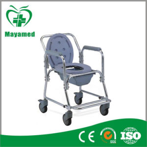Ma-699L Medical Equipment Commode Wheelchair Bidet Wheelchair pictures & photos