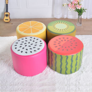Custom Fruit Fabric Covered Ottoman Furniture/Children Furniture pictures & photos