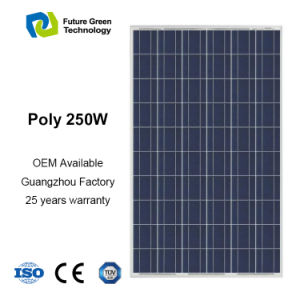 Manufacturer 250W Home Electrical Solar Energy Solar Panel pictures & photos