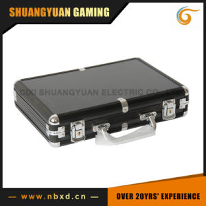 200PCS Poker Chip Set in Black Color Aluminum Case (SY-S15) pictures & photos
