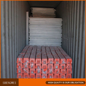 Hot Dipped Galvanized 2.1X2.4m Temp Fencing pictures & photos