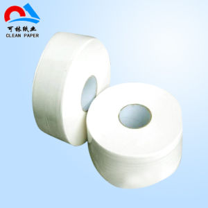 Soft Best Quality Jumbo Roll Toilet Tissue Paper pictures & photos