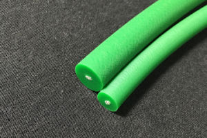PU Rough Round Belt Polyurethane Conveyor Round Blet - 85A Green Rough pictures & photos