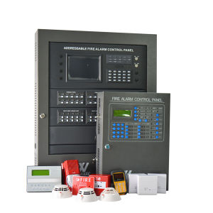 2 Loops Fire Detection and Alarm System Monitoring Control Panel pictures & photos
