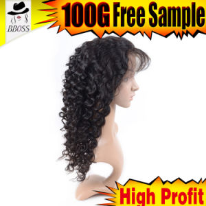 10A Grade Brazilian Half Lace Wig pictures & photos