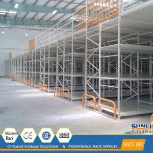 Multi Level Storage Rack Modular Rack Supported Mezzanine Racking pictures & photos