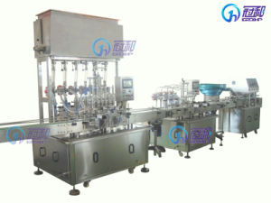 High-Quality Bottle Sauce Filling Machine with Capping and Labeling Line (GHAPF-6) pictures & photos